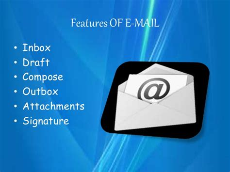 email electronic mail