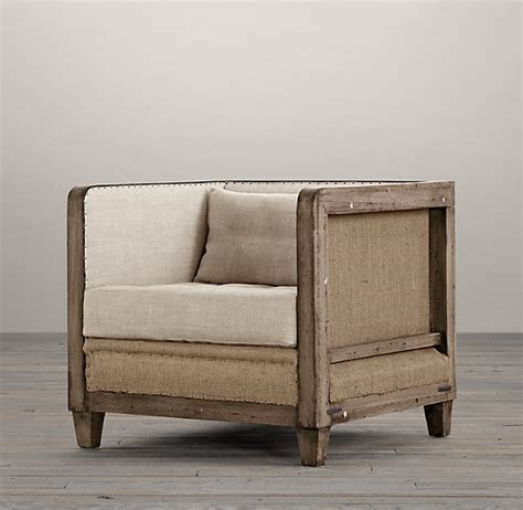 restoration hardware armchair restoration hardware deconstructed shelter arm chair decor look alikes
