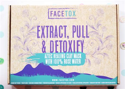 How To Detox Your Facetox by Facetox Review 7 Facemasks Pack Liviatiana