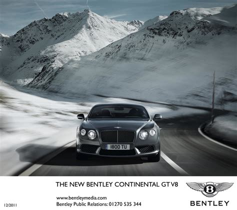 bentley ad bentley continental gt v8 official info and photos