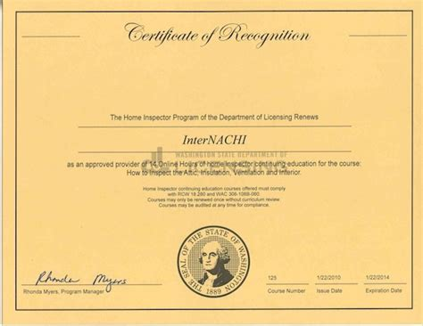 hvac certification letter how to become a certified home inspector in washington