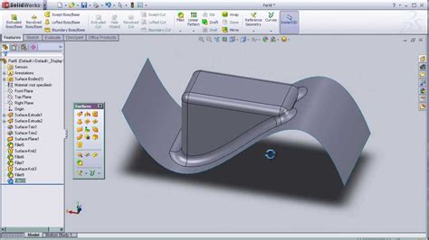 tutorial solidwork youtube 21 solidworks surface tutorial fillet surface youtube