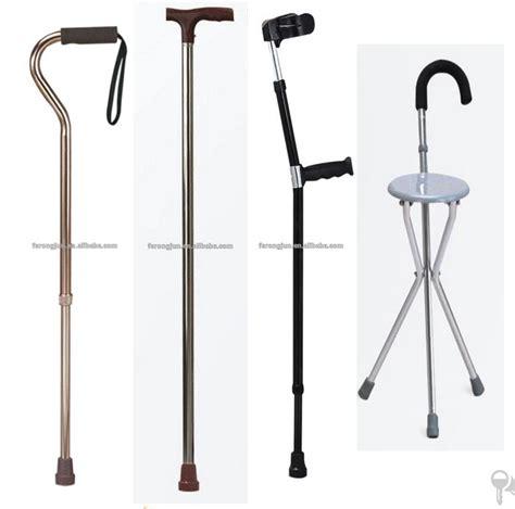 Tongkat Duduk Tongkat Kursi Lipat mudah dibawa lipat untuk orang duduk tongkat kursi lipat