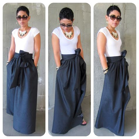 diy maxi skirt again fashion lifestyle and diy