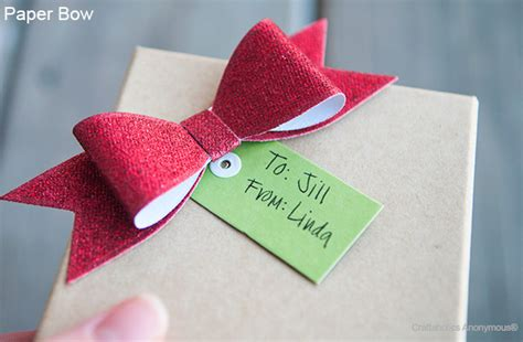 How To Make Bows Out Of Wrapping Paper - craftaholics anonymous 174 paper bow the gift topper