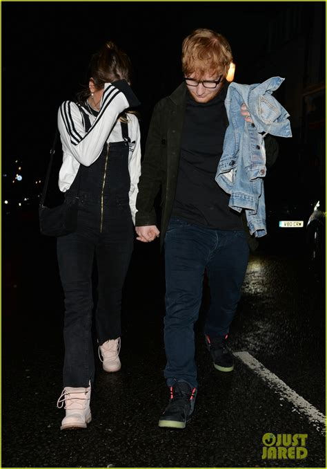 ed sheeran perfect night ed sheeran has date night with girlfriend cherry seaborn