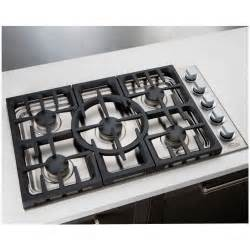 36 Inch Gas Cooktop Dcs 36 Inch 5 Burner Propane Gas Drop In Cooktop By Fisher