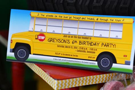 themed party bus 1000 images about school bus theme party ideas on
