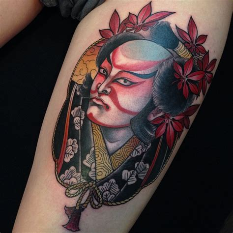 kabuki tattoo designs real kabuki best ideas gallery