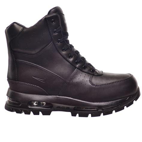 mens nike air max boots nike air max goadome 6 quot waterproof s boots black black
