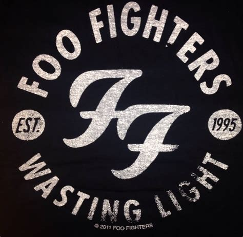 Foo Fighters Wasting Light Tees foo fighters wasting light t shirt by mail