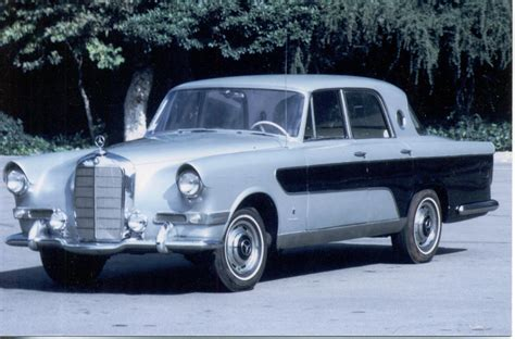 mercedes 300c berlina ghia 1956 mercedes