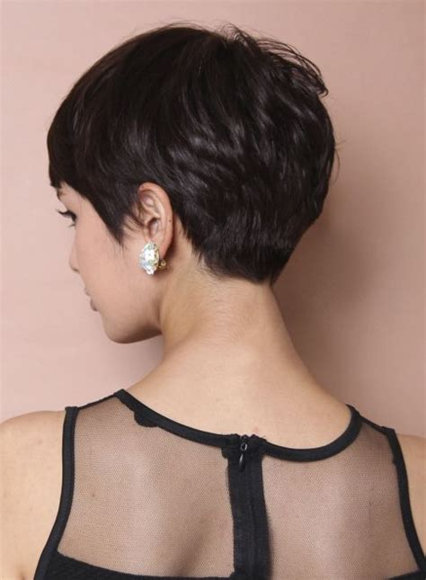 medium hairstyles that can be worn behind the ear 25 best ideas about asian pixie cut on pinterest longer