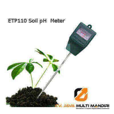 Alat Pengukur Ph Yg Paling Akurat jual alat pengukur ph tanah etp110 alat pengukur ph tanah