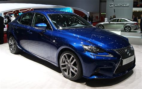 lexus is300h hybrid at the 2013 geneva motor show telegraph
