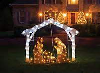 Outdoor Nativity Lighted Lighted Outdoor Nativity Lifeway Christian Nativity