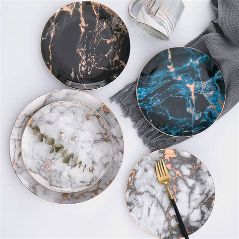 10 inch ceramic plate 8 or 10 inch marble ceramic plate dinner set dish