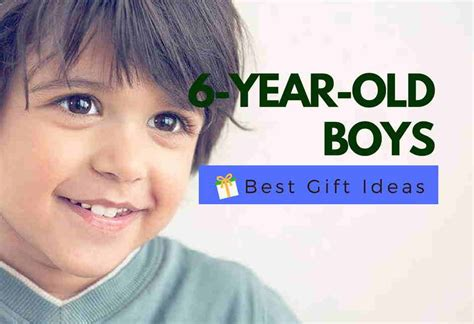 Best Gifts For A 6 Year Old Boy   Educational & Fun