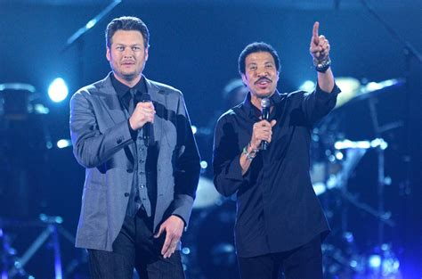 lionel richie e blake shelton blake shelton photos photos 47th annual academy of