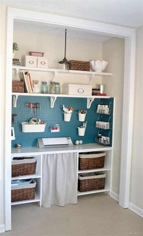 craft room closet storage ideas craft closet sewing studios storage