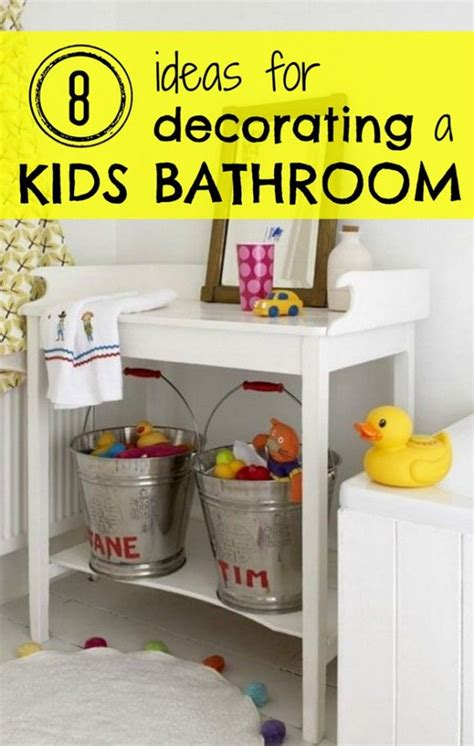 kids bathroom ideas pinterest 8 ideas for decorating a kids bathroom tipsaholic com
