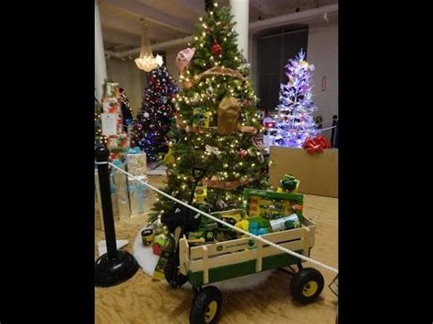 heavy decorated john deere christmas tree youtube