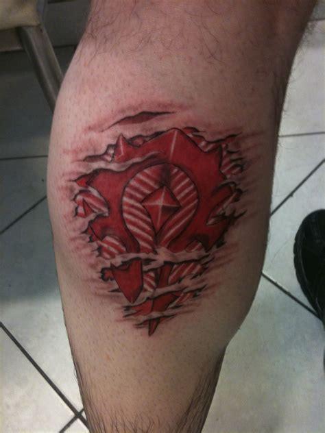 horde tattoo for the horde by suponjisama on deviantart