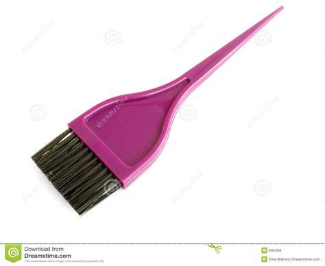 brush in hair color hair dye brush royalty free stock photos image 832408 of