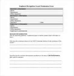 nomination form template award nomination form template ebook database