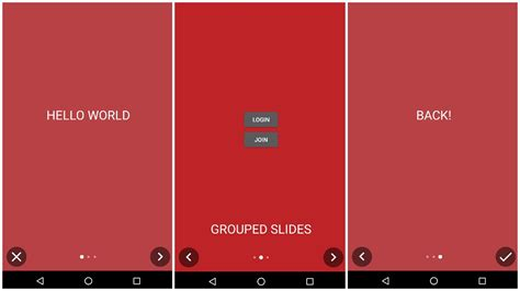 layout slide animation in android the android arsenal showcase views easyintro