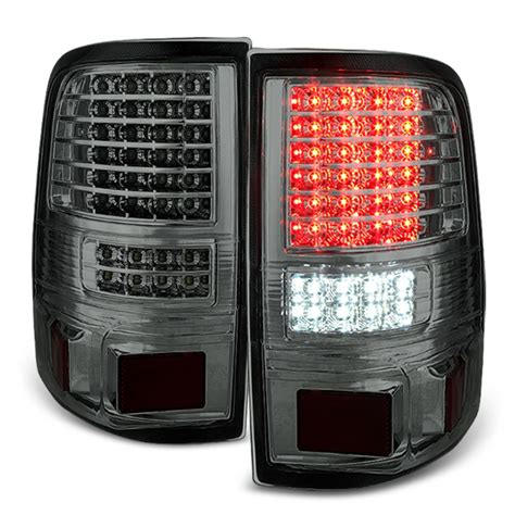 2008 f150 tail lights xtune 2004 2008 ford f150 styleside led tail lights w led