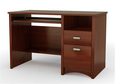 Cherry Laptop Desk Home Office Desk With Hutch Rachael Edwards