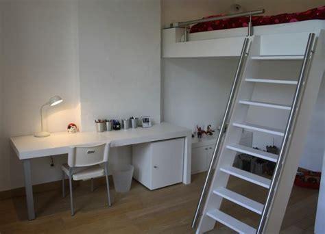 chambre ado avec mezzanine chambre pour ados avec lit en mezzanine ai concept