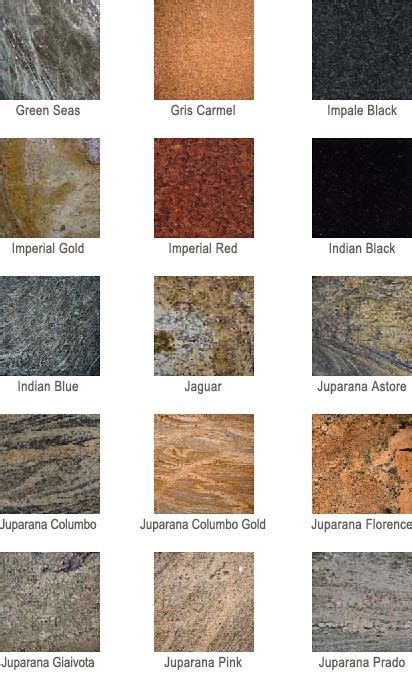 colors of granite granite countertop colors az granite countertops