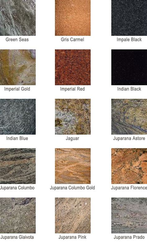Colors Of Granite For Countertops by Granite Countertop Colors Az Granite Countertops