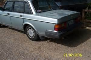 1988 Volvo 240 Dl Parts 1988 Volvo 244 Rust Free Western Car Silver In Color For