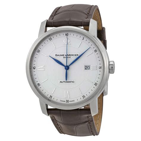 baume and mercier classima executives automatic silver