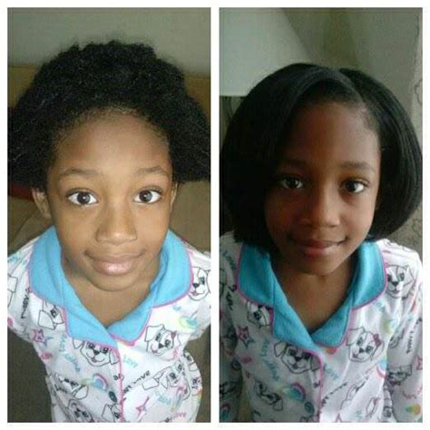 healthy hair fir 7 yr the shrinkage is real 7 year old tianna with hot combed