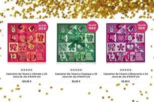 Calendrier De L Avent 2017 Benefit Calendrier De L Avent Beaut 233 2017 Les Premi 232 Res Images