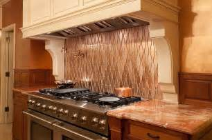 kitchen metal backsplash 20 copper backsplash ideas that add glitter and glam to