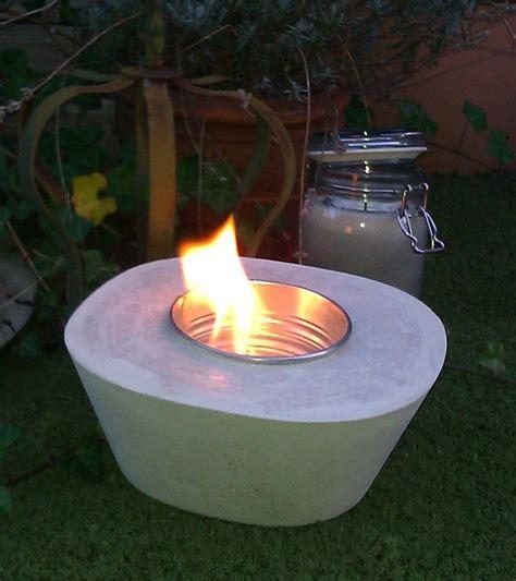 feuerstelle aus beton beton feuerschale f 252 r ethanol garten