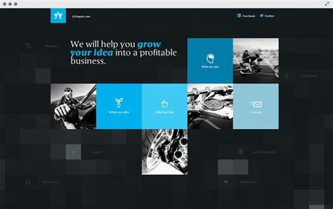 website layout grid exles 6 exles of grid based websites powderkeg web design