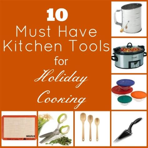 Food Must Haves In Kitchen 10 Must Kitchen Tools For Cooking In The