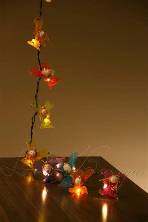 childrens led string lights 20 x flower battery powered led string