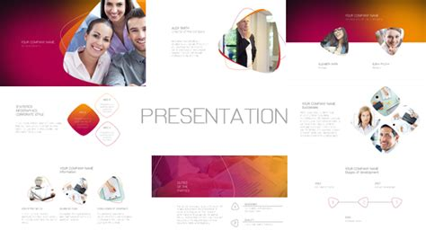after effects presentation templates presentation after effects template videohive 19289282