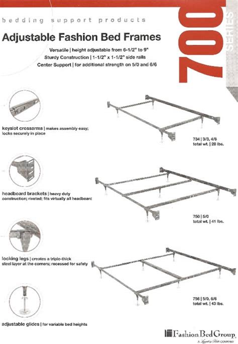 Futon Frame Parts by Bed Frames Rails