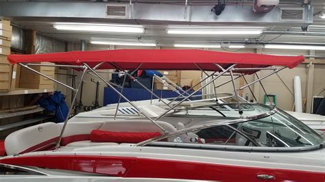 pontoon boat bimini top extension crownline bimini top and cantalever front and rear