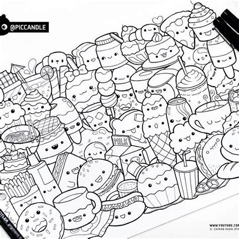 chibi food coloring pages 395 best pic candle images on pinterest adult coloring