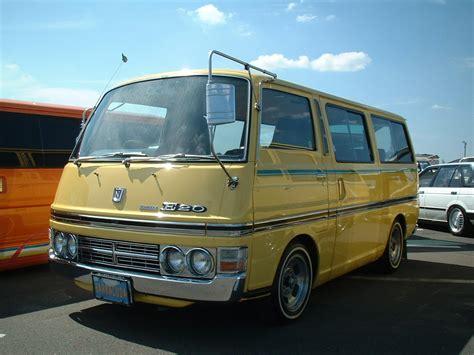 old nissan van nissan caravan e20 old van archives