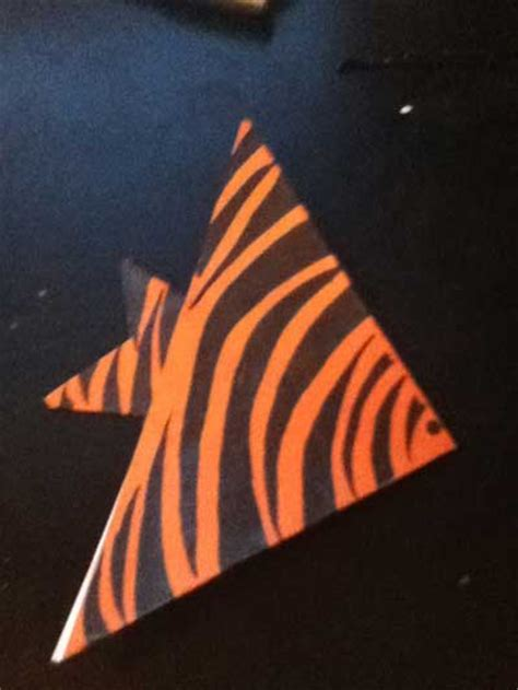 Angelfish Origami - easy origami angelfish folding how to fold